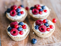 Oat berry cups