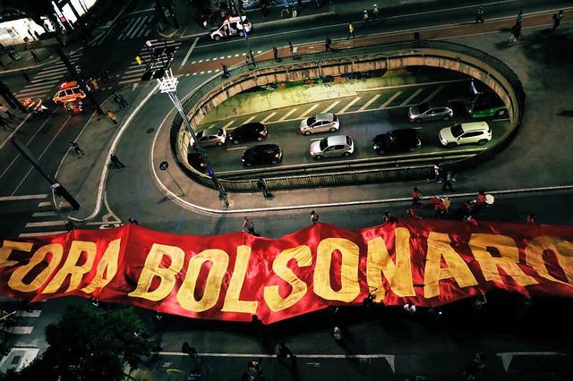 Em São Paulo, cerca de 5 mil manifestantes foram à Avenida Paulista protestar - Créditos: Foto: Nacho Lemos