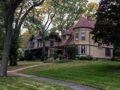 20181012 06 Victorian Houses, Riverside, Illinois