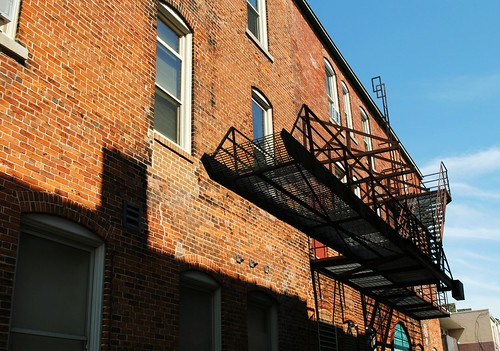 Alley fire escape - Reedsburg, Wisconsin