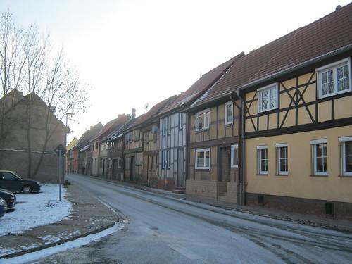 Heringen (Helme): Auf der Bahnhofsstrasse