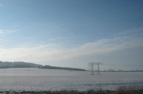 Heringen (Helme): Hochspannungsleitung 220 kV