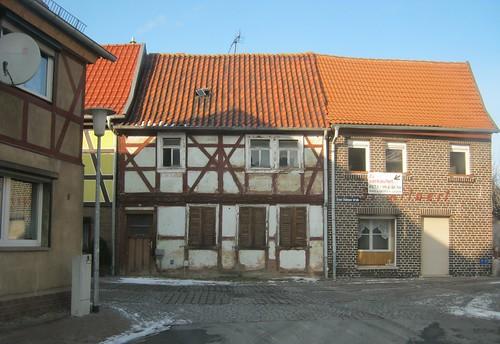 Heringen (Helme): Auf der Thälmannstrasse