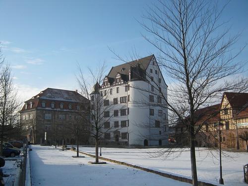 Heringen (Helme): Schloss