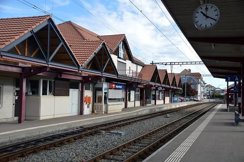 Bahnhof Saignelégier