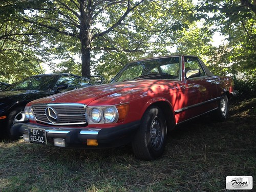 US-Spec Mercedes 280SL Convertible - Caramulo