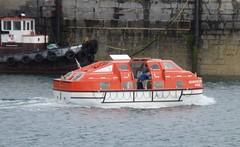 Sebourne Quest lifeboat 2