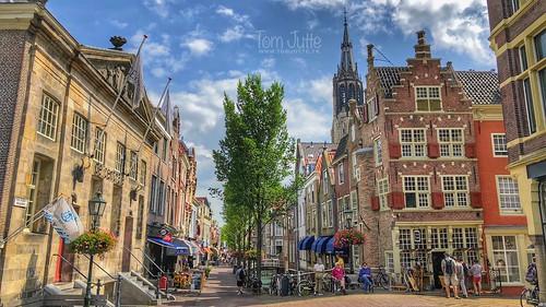 Cameretten, Voldersgracht, Markt, Delft, Netherlands - 1646