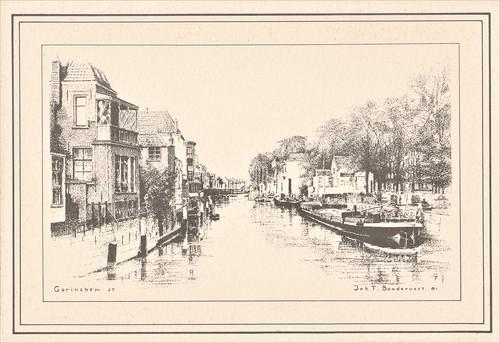 Kaart - Lingehaven (Langendijk, Appeldijk) - Joh. T. Bendervoet 81