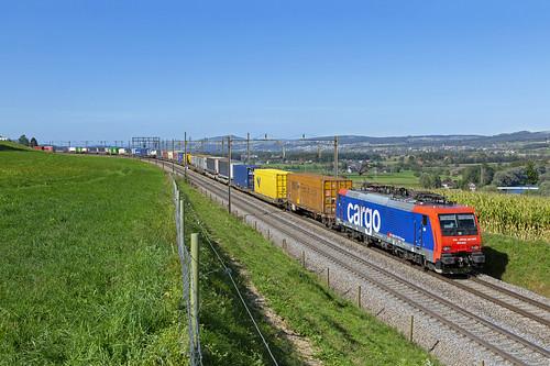 Mühlau, 19 september 2019   SBB Cargo 474 012