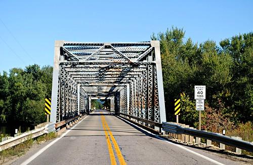 Bridge over the Wisconsin River - Lone Rock, Wisconsin