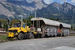 Track Construction - Unimog 1600 Zagro Lokomobil