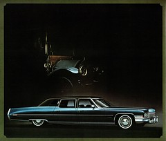 1972 Cadillac Fleetwood Seventy-Five Nine -Passenger Sedan