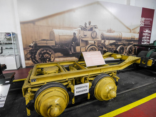 Südbahn Museum - Benzin-Elektrischer Transportzug der K.u.K. Armee