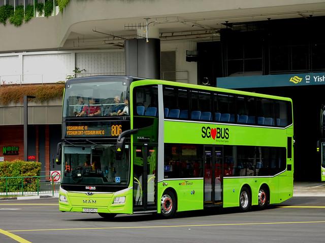 MAN A95 ND323F e6   Gemilang   SBS Transit   SG 6049 J
