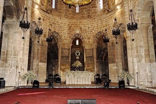 Altar iglesia del Monasterio de Veruela