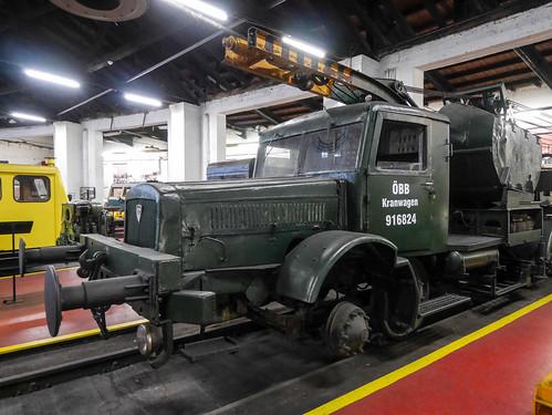 Südbahn Museum - Kranwagen