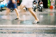 Runaway (or walking in the rain!)