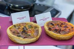 Kleine Quiche - Tuna und Tomate, Chorizo und Paprika