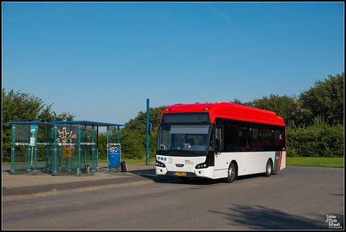 24-08-19 EBS VDL Citea LLE99-E 6009, Zurich - Busstation Kop afsluitdijk