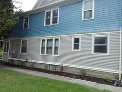 repainted house
