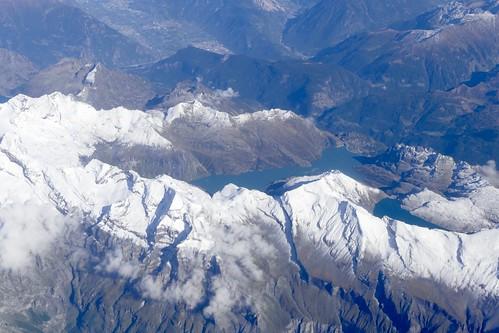 Lac d'Emosson / Pointe de la Fenvie / Bel Oiseau Valais Switzerland