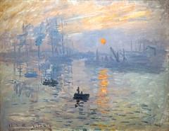 Impression, soleil levant de Claude Monet (Musée Marmottan Monet, Paris)