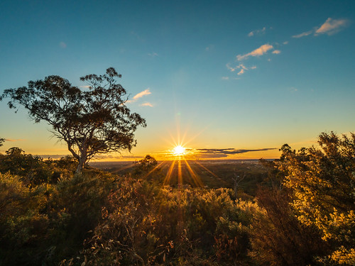 Perth Hills Sunset 2