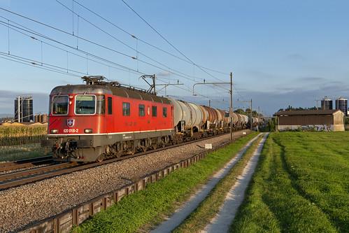Wohlen, 19 september 2019 | SBB Cargo 620 018