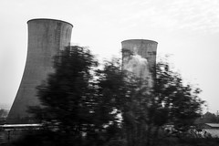cooling towers, Shanxi Province