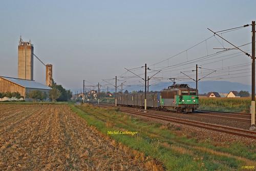BB 25615 + RRR 236 TER 831308 Sélestat-Strasbourg à Kogenheim