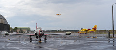 Canadair CL-415 take off