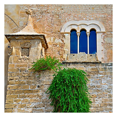 New window and the old wall