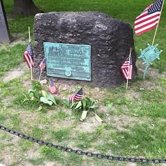 Headstone Samuel Adams Boston