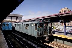 US NY NYC Subway - Parade of Trains - 1930s IND