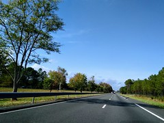 A63 Autoroute near join with A660 - Photo of Salles