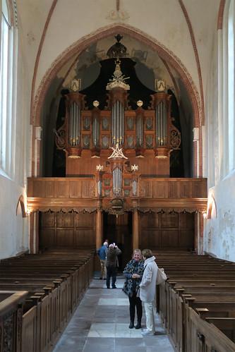 Orgel in de kerk van Noordbroek