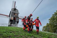Bruges fire brigade @ work