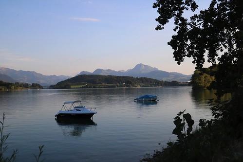 La Gruyère - Lac de la Gruyère / Ref.01314