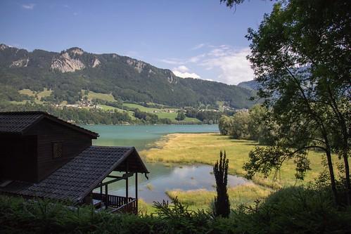 La Gruyère - Lac de la Gruyère / Ref.01325