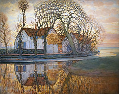Ferme de Piet Mondrian (Musée Marmottan Monet, Paris)