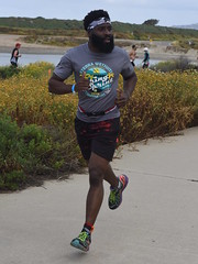 Runner Wearing Event Shirt