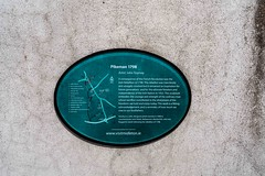 FREEDOM'S DAWN ALSO KNOWN AS THE PIKEMAN BY JOHN TOOMEY [THE PLAQUE OUTSIDE THE COURTHOUSE IN MIDLETON - MAY 2019]-157099