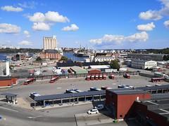 Ports of Värtahamnen and Frihamnen
