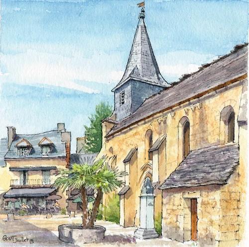Montignac, le prieuré