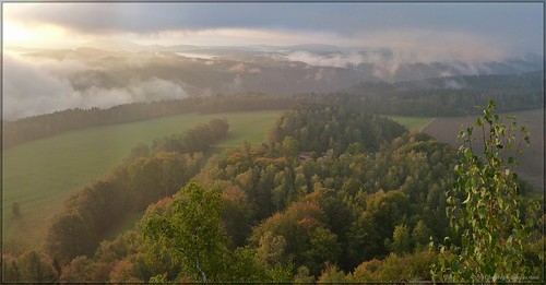 Herbstmorgen auf dem Zirkelstein
