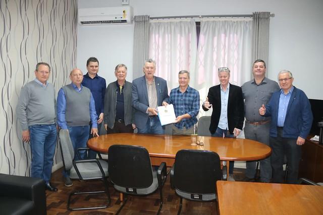 07/10/2019 Reunião na Prefeitura de Portão sobre rodovia Transaçoriana