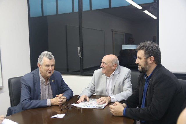 03/10/2019 Reunião Grupo Sinos e Dep. Estadual Issur Koch