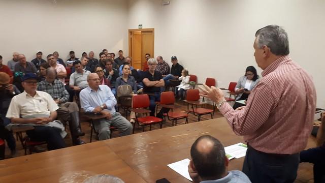 05/10/2019 Reunião Arrozeiros Sindicato Rural de São Borja