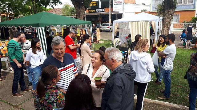 06/10/2019 Chic Bazar na Praça da Lagoa em São Borja